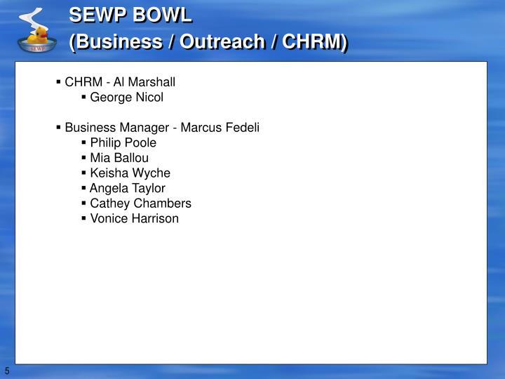 SEWP BOWL