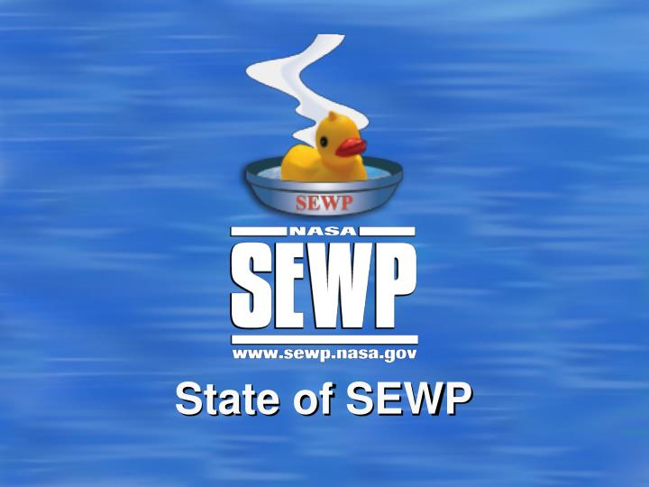 State of sewp