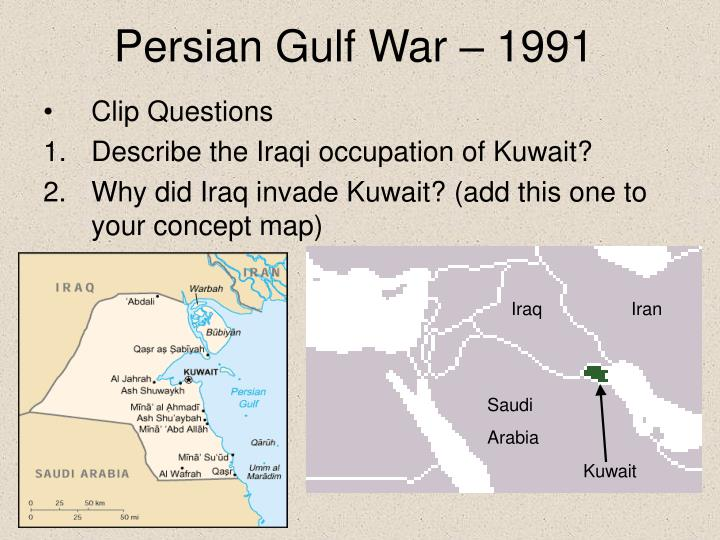 Persian Gulf War – 1991