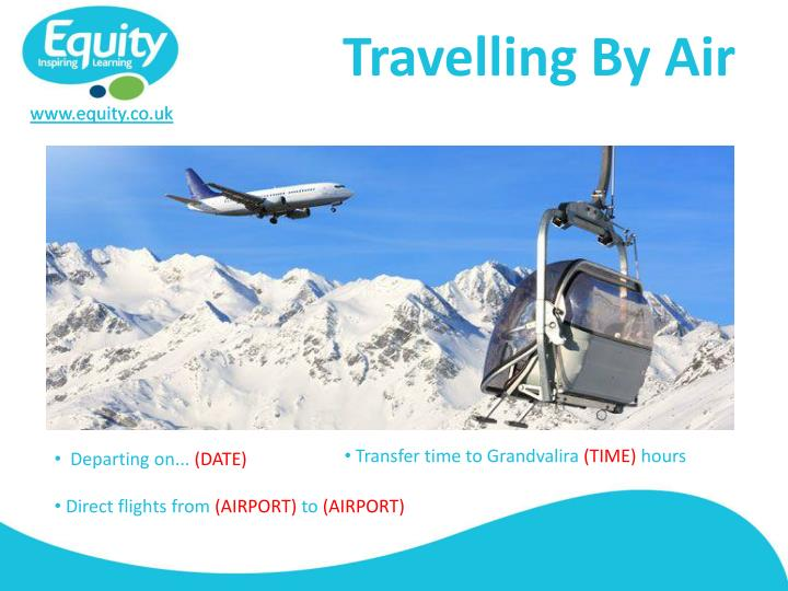 Travelling By Air