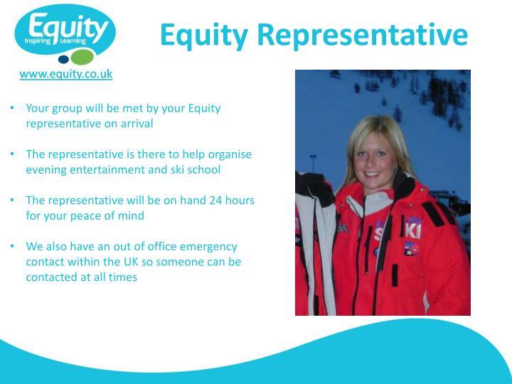 Equity Representative