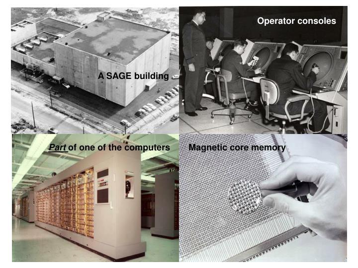 Operator consoles
