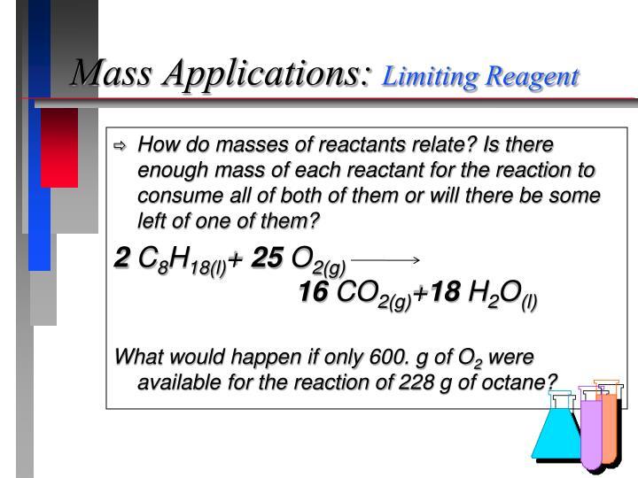 Mass Applications:
