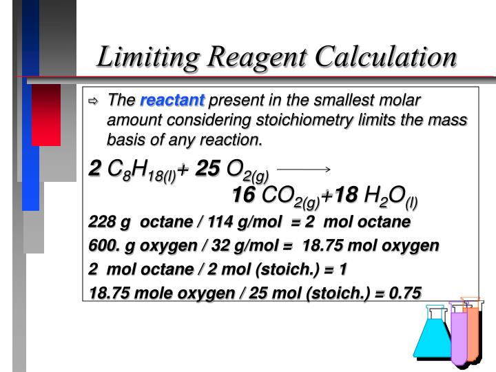 Limiting Reagent Calculation