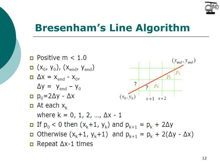 Bresenham's