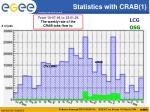 statistics with crab 1
