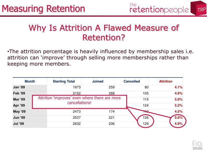 Measuring Retention