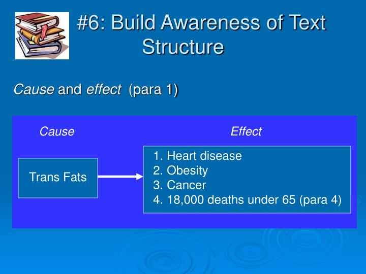 #6: Build Awareness of Text Structure