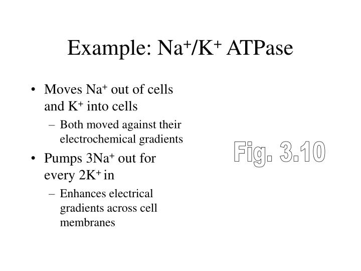Example: Na