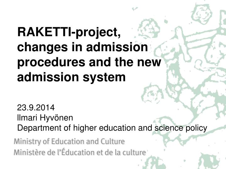 RAKETTI-project,