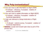 why poly instantiation