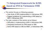 7 1 integrated framework for kms based on sns in vietnamese sme
