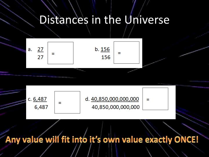 Distances in the Universe
