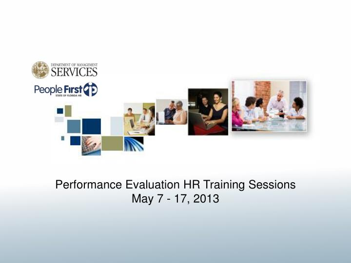 Performance Evaluation HR Training Sessions