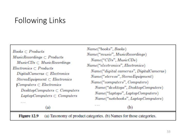 Following Links