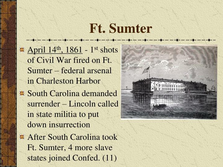 Ft. Sumter