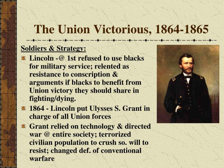 The Union Victorious, 1864-1865