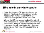 sips role in early intervention1