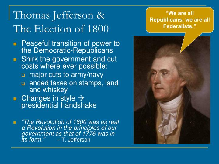 Thomas Jefferson &