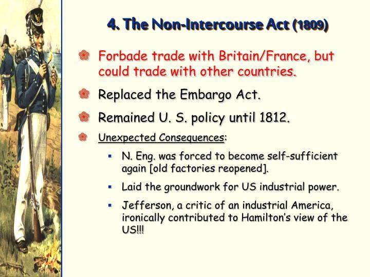 4. The Non-Intercourse Act