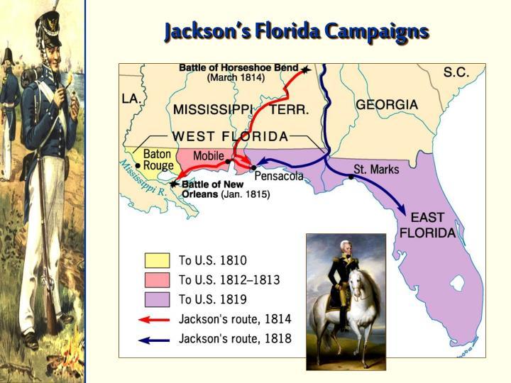 Jackson's Florida Campaigns
