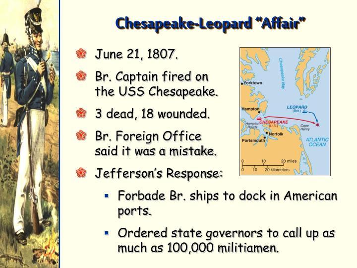 """Chesapeake-Leopard """"Affair"""""""