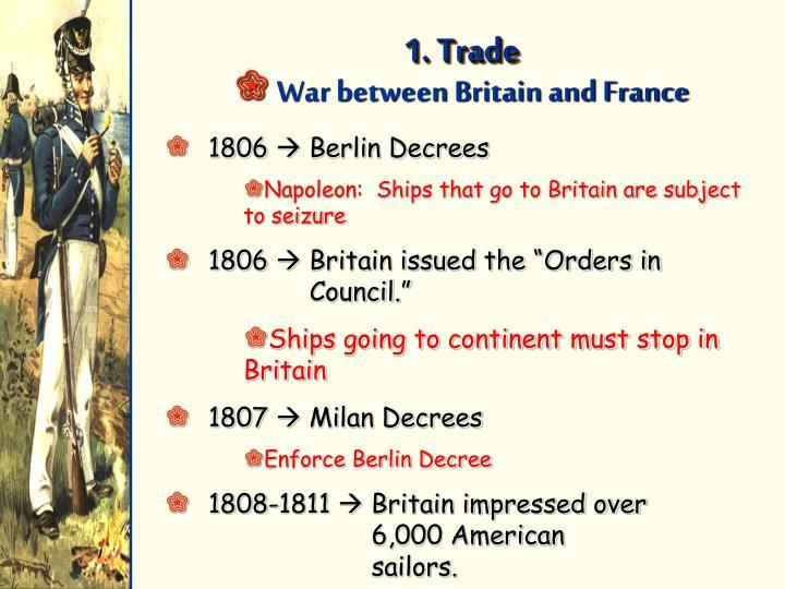 1. Trade