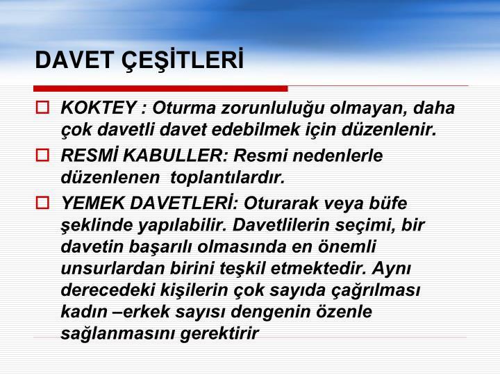 DAVET