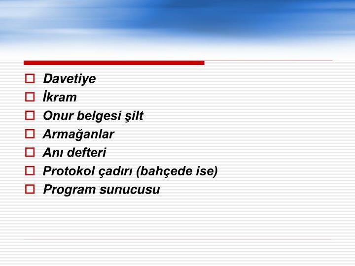 Davetiye