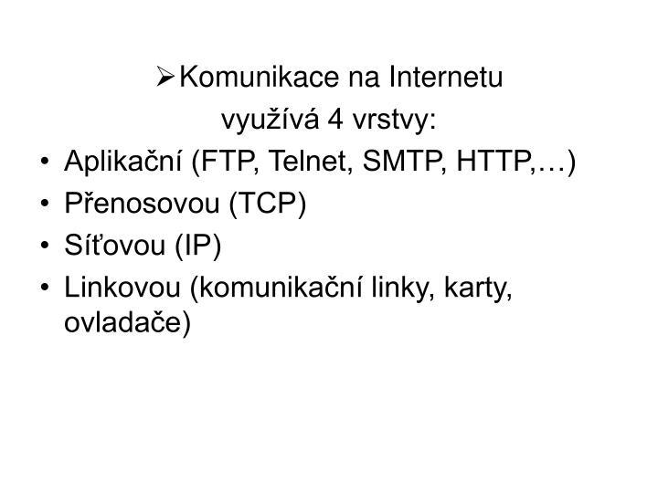 Komunikace na Internetu