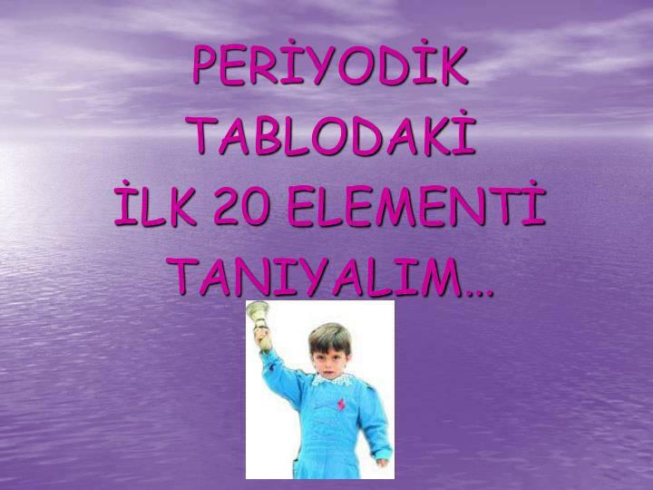PERİYODİK
