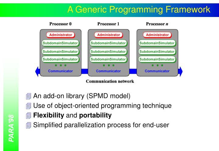A Generic Programming Framework