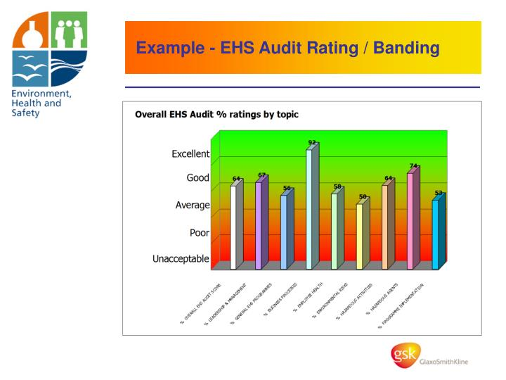Example - EHS Audit Rating / Banding