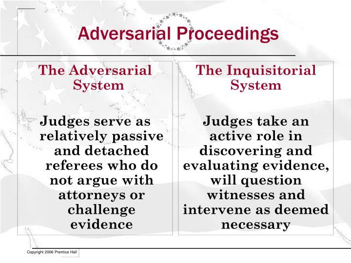 Adversarial Proceedings