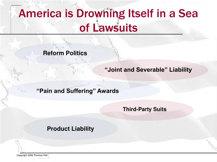 America is Drowning Itself in a Sea of Lawsuits