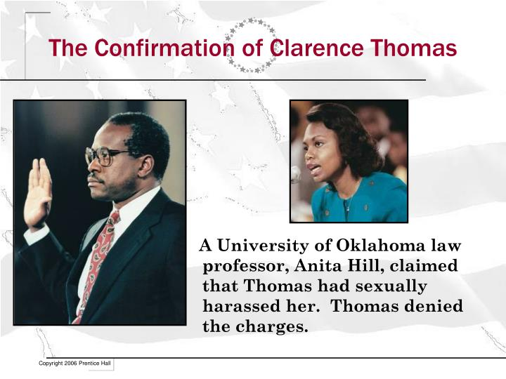 The Confirmation of Clarence Thomas