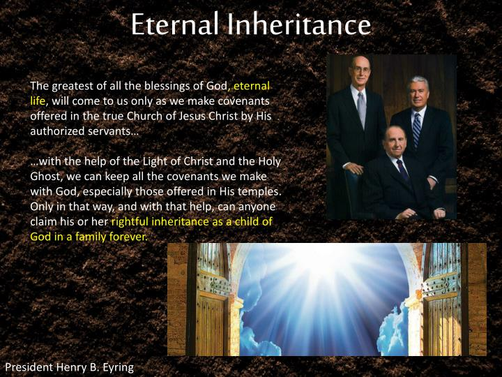Eternal Inheritance