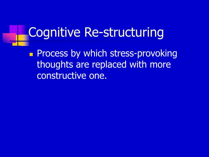 Cognitive Re-structuring