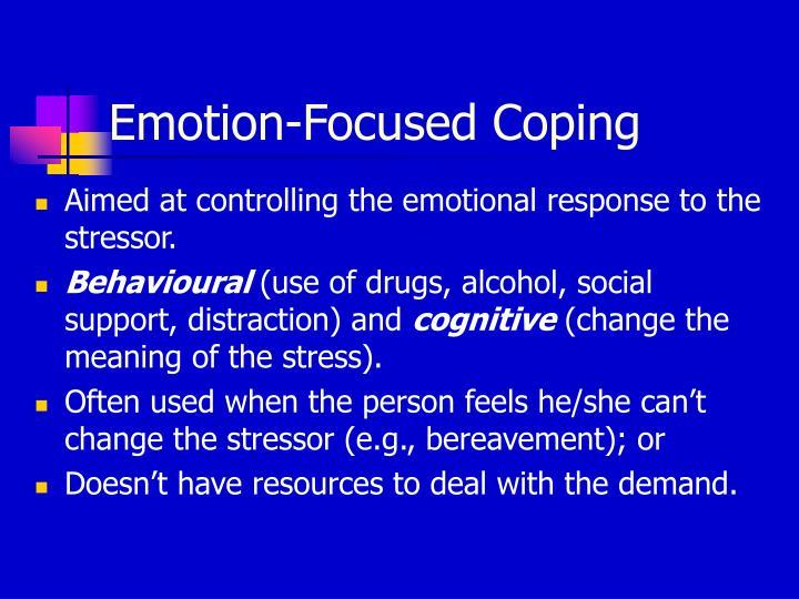 Emotion-Focused Coping