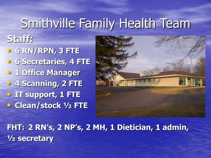 Smithville Family Health Team
