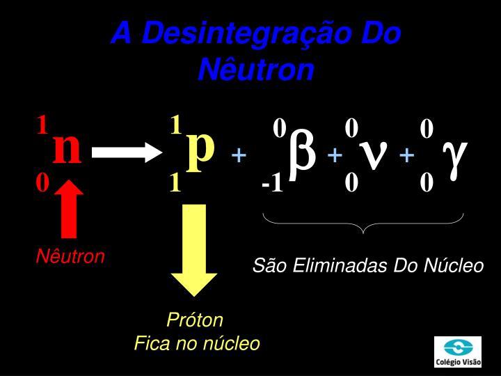 A Desintegração Do Nêutron