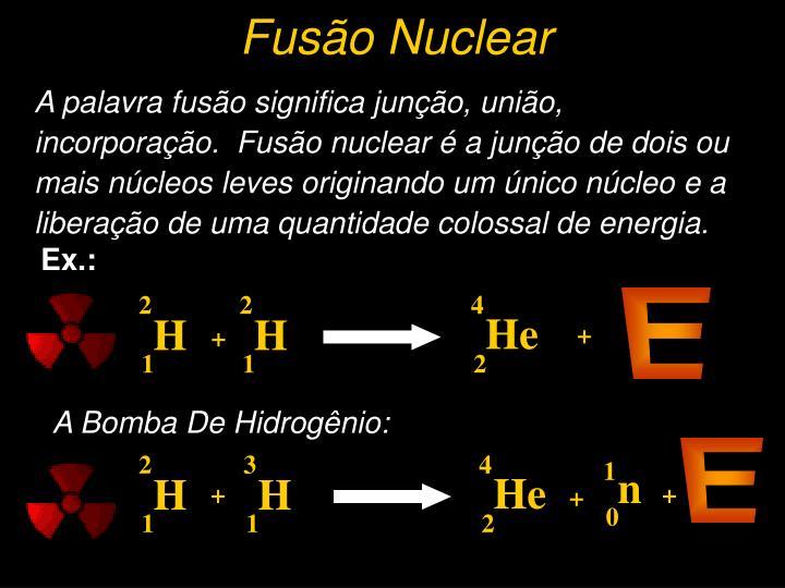 Fusão Nuclear