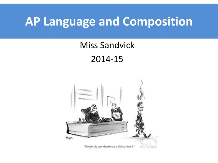 Ap language and composition