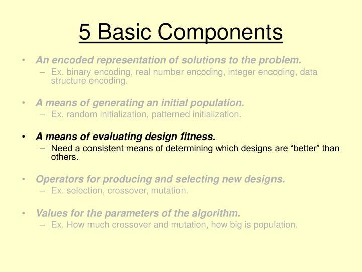 5 Basic Components