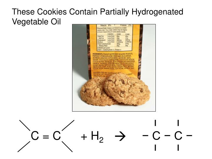 These Cookies Contain Partially Hydrogenated Vegetable Oil