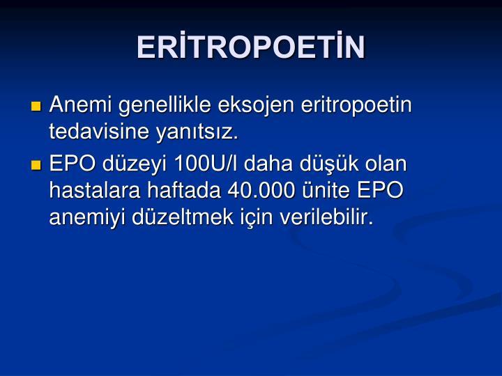 ERİTROPOETİN