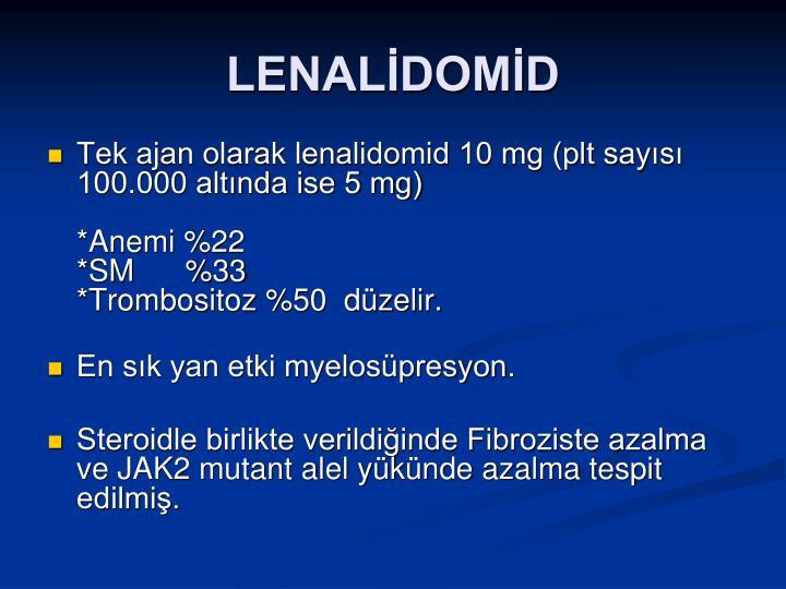 LENALİDOMİD