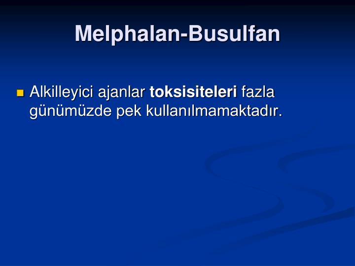 Melphalan-Busulfan