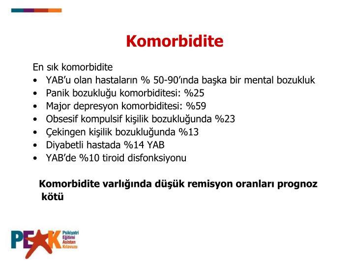 Komorbidite