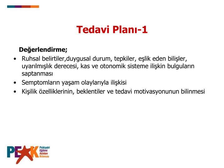 Tedavi Planı-1